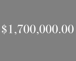 $1,700,000