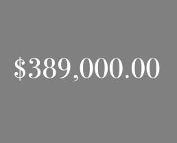 $389,000