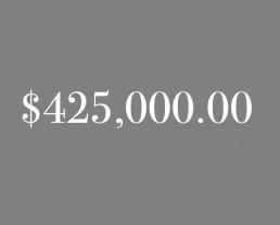 $425,000