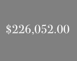 $226,052