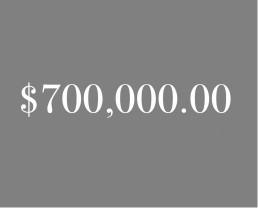 $700,000