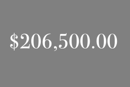 $206,500