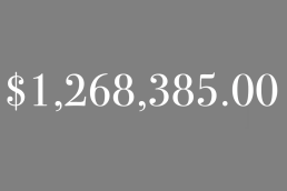 $1,268,385